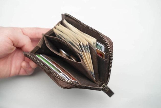レス 財布 キャッシュ